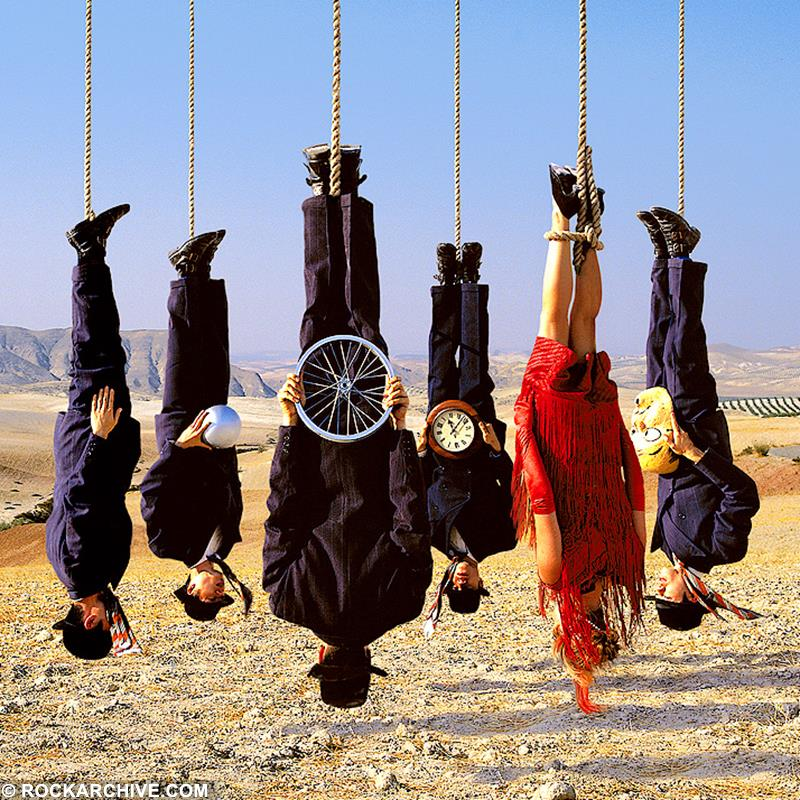 Artwork by Storm Thorgerson for Alan Parson's album Try Anything Once