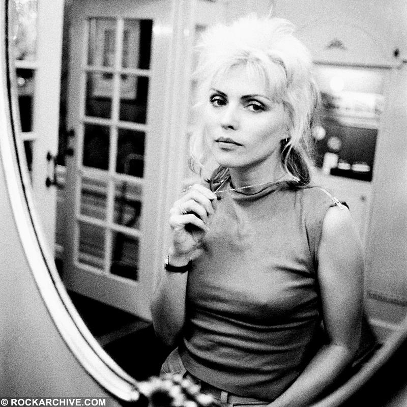 Blondie, Debbie Harry in London, 1977 Photo | Fine Art Print by Lex Van Rossen