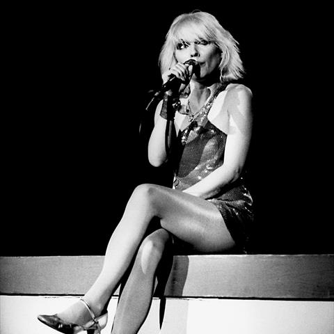 Blondie, Debbie Harry in San Diego, 1977 Photo | Fine Art Print by Allan Ballard