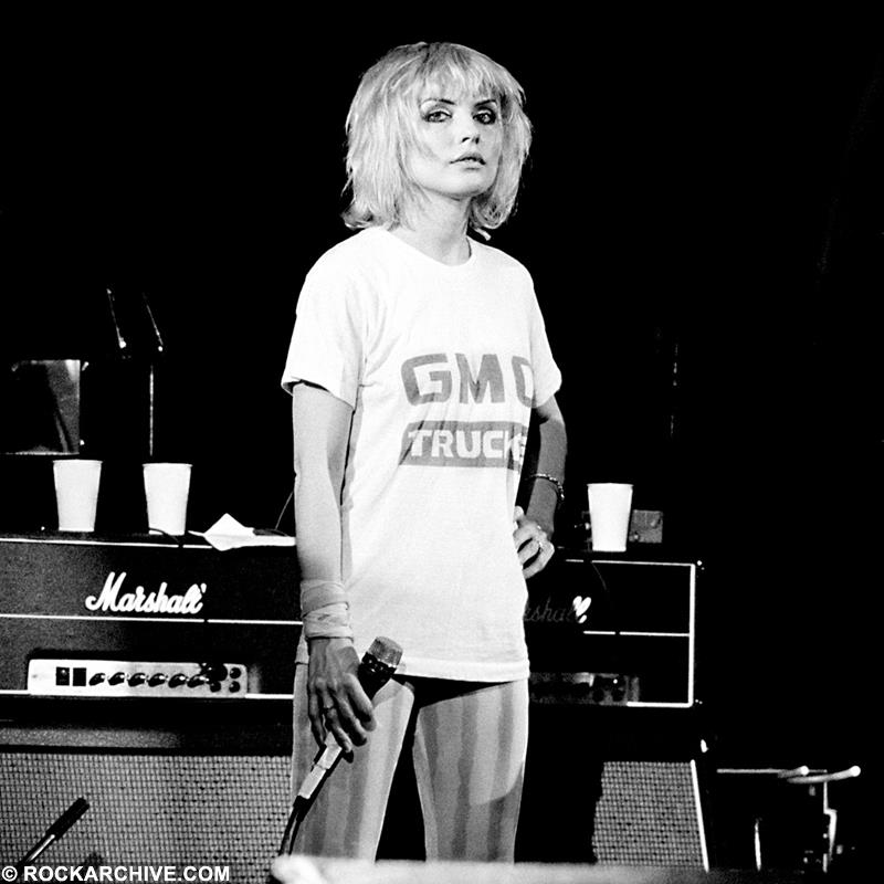 Blondie, Debbie Harry 1980 Photo | Fine Art Print by Gerard McNamara
