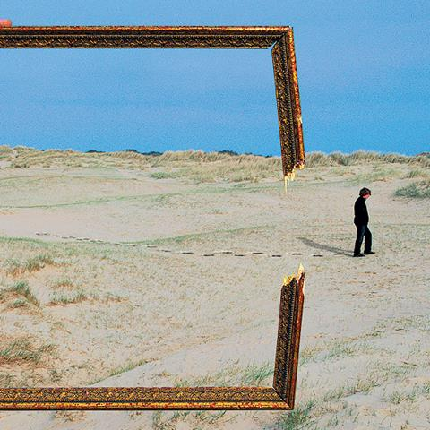 Artwork by Storm Thorgerson for Deepest Blue's album Is It a Sin