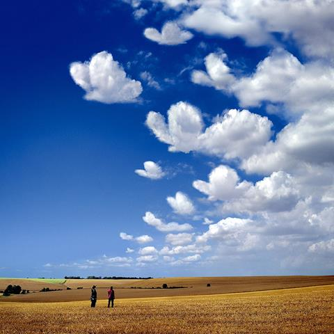 Artwork by Storm Thorgerson for Muse's Butterflies & Hurricanes