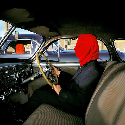 Artwork by Storm Thorgerson for Mars Volta's album Frances The Mute