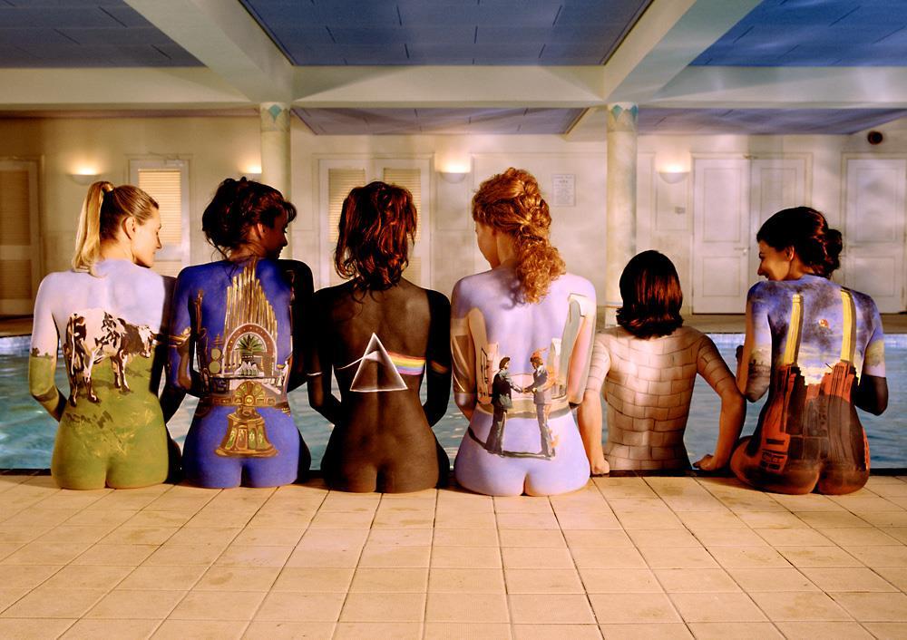 Pink Floyd Girls Album Pyramid T-Shirt