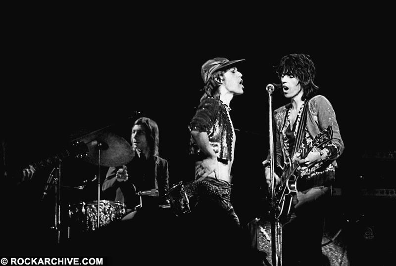 The Rolling Stones, Roundhouse, 1971 © Pete Smith