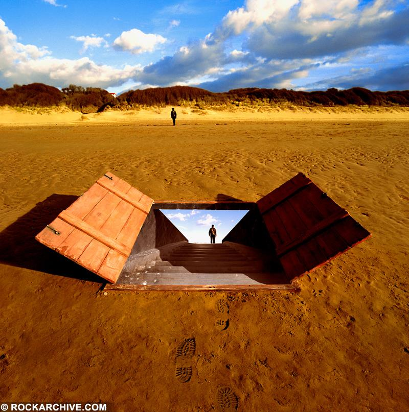 Artwork by Storm Thorgerson for Thornley's album Come Again
