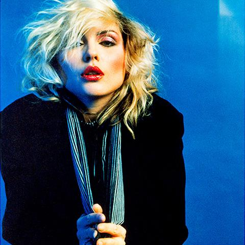 Blondie, Debbie Harry in New York, 1978 by Mick Rock