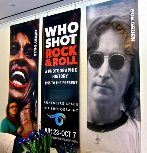 'Who Shot Rock & Roll' Q&A ,Olympus Gallery, London