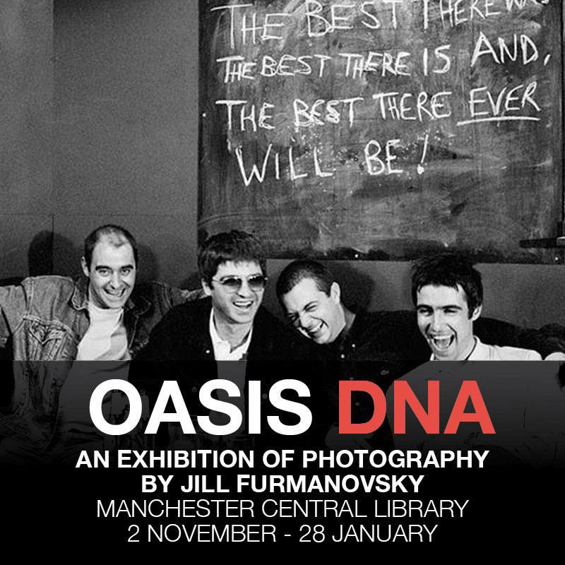 *Oasis DNA Exhibition: Manchester Central Library