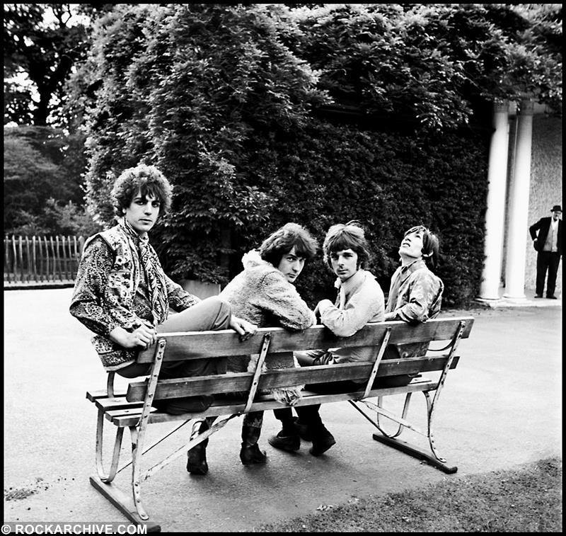 Pink Floyd, Ruskin Park, Denmark Hill, London, UK 1967. Shot by © Colin Prime - (This image is available to buy below)