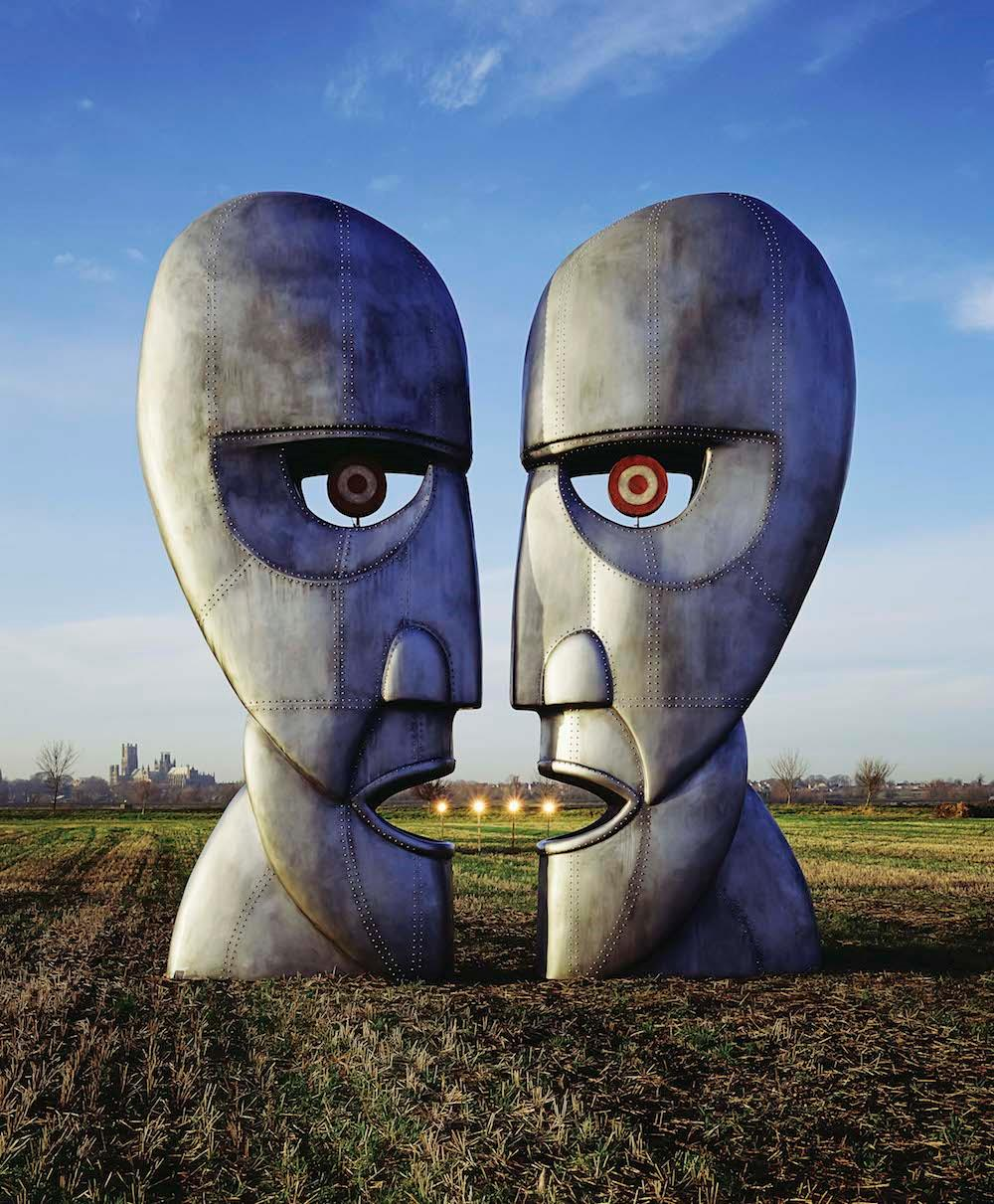 Alternative artwork for Pink Floyd's album Division Bell by Storm Thorgerson
