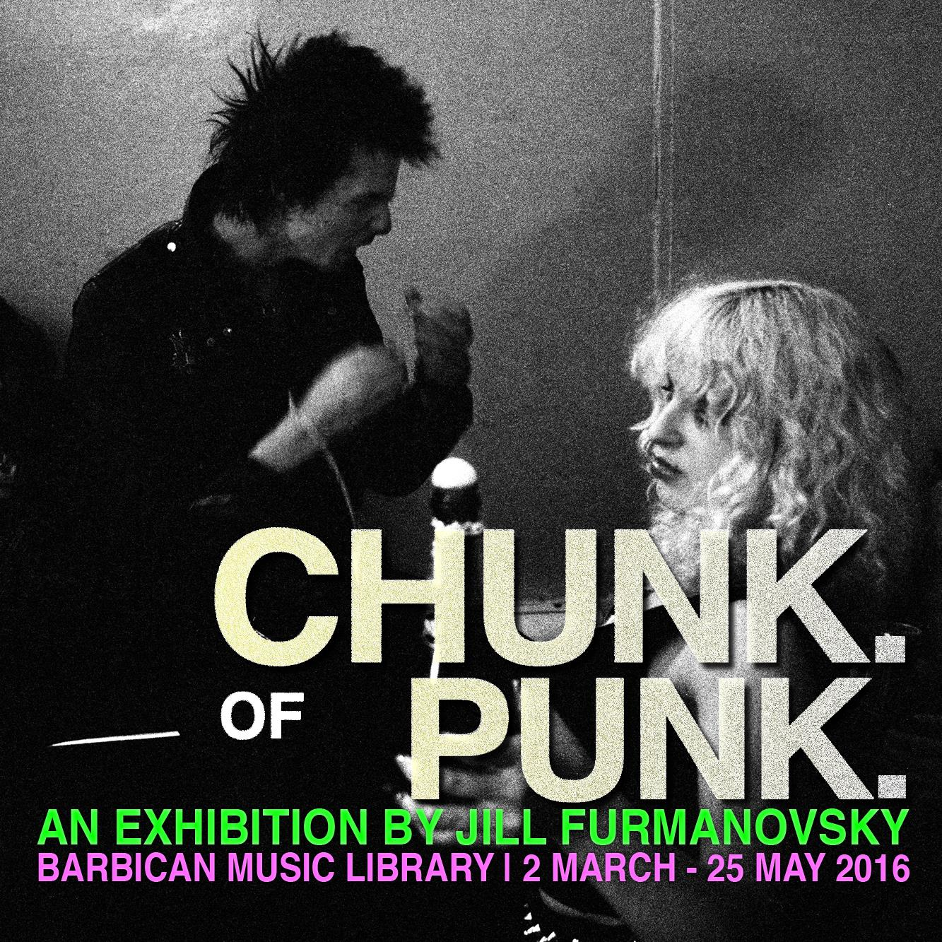 Chunk of Punk Exhibition: Barbican Music Library