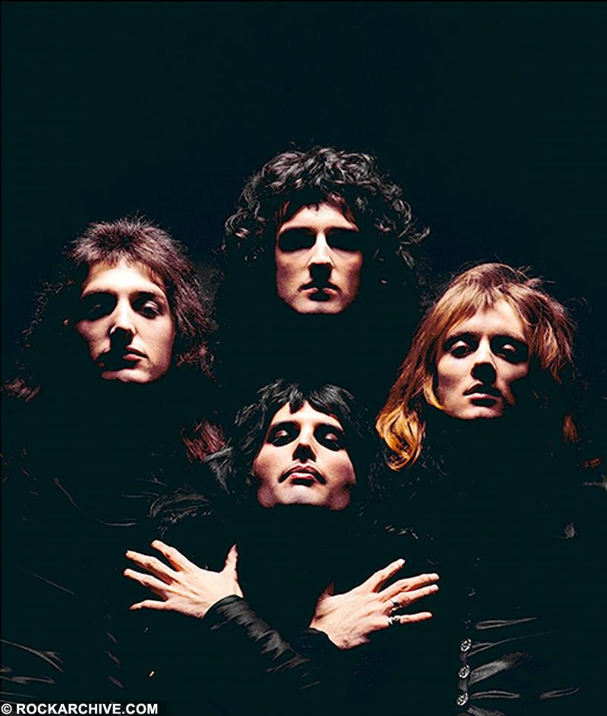 Cover artwork for the iconic Queen 2 album released in 1974. © Mick Rock
