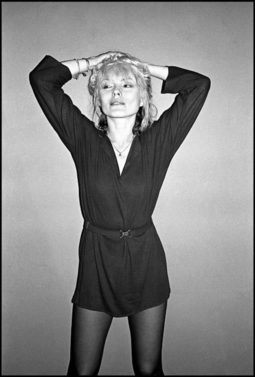 Blondie, Debbie Harry in Bournemouth, 1977 by Lawrence Impey