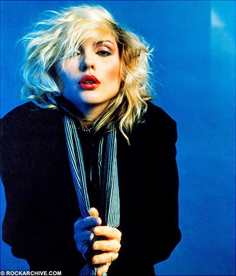 The session in New York was set up in the Autumn of 1978 to accompany an interview that Debbie Harry had done as part of the promotion for the release of 'Parallel Lines. It was used for the cover of the February 1980 issue of Penthouse Magazine. © Mick Rock