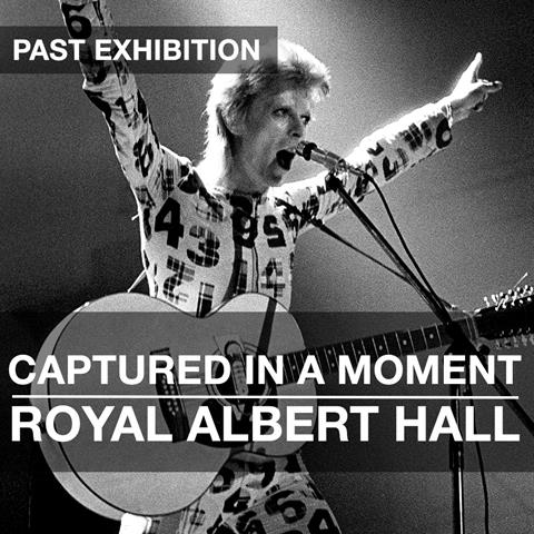 Captured in A Moment Exhibition: Royal Albert Hall