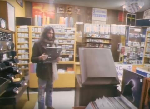 Neil Young Goes Record Shopping, Finds Bootleg Crosby Stills Nash & Young