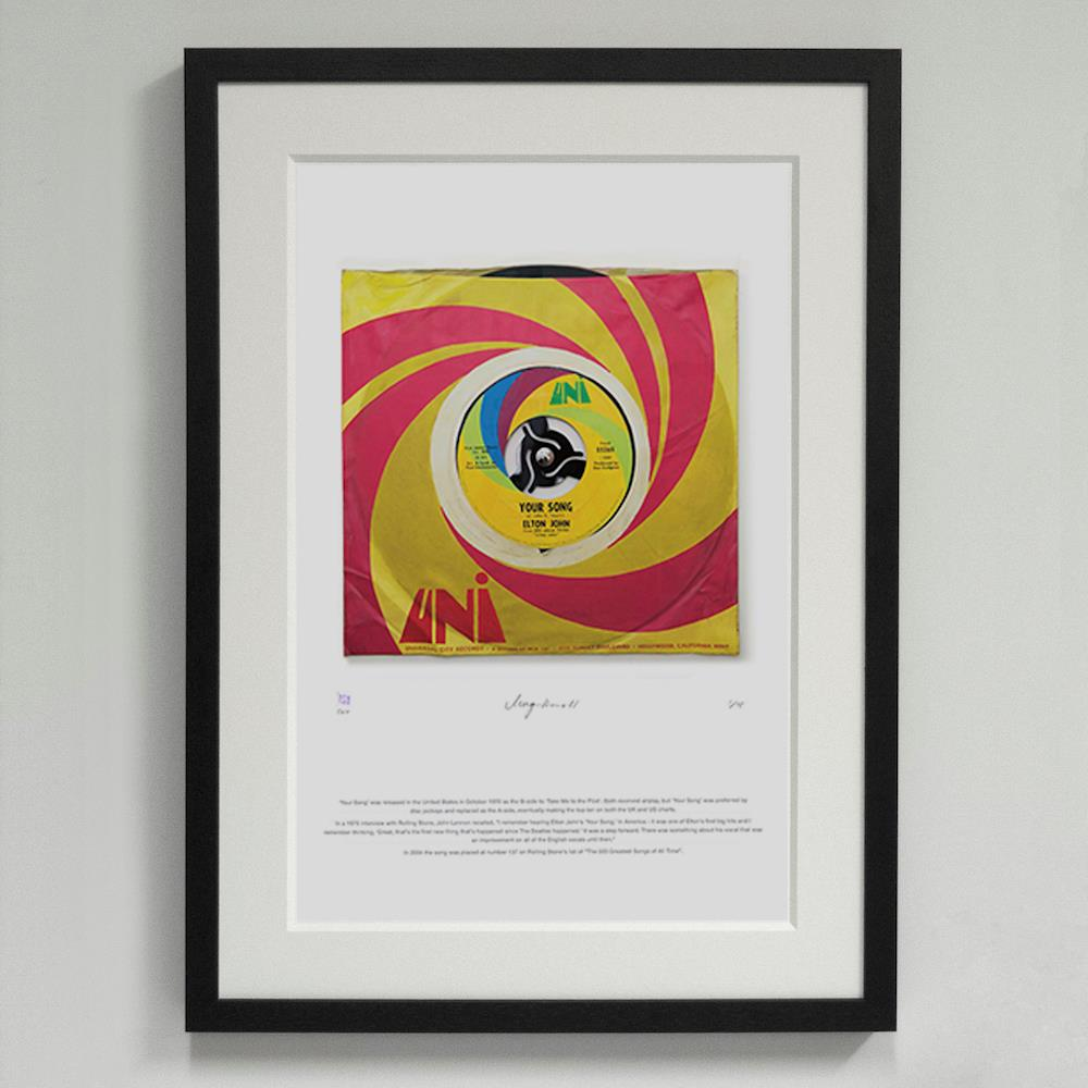 09*'Your Song' Elton John - Morgan Howell Print