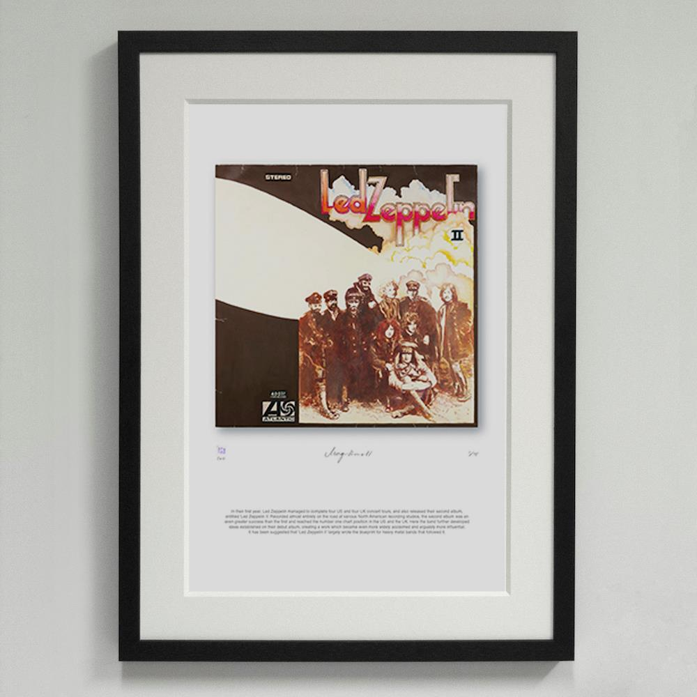 'Led Zeppelin II' Led Zeppelin - Morgan Howell Print