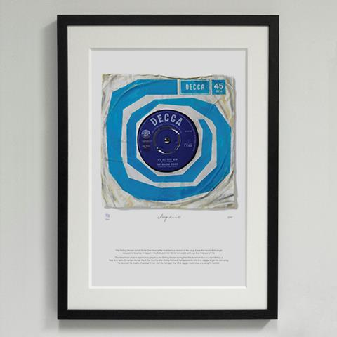 03*'It's All Over Now' The Rolling Stones - Morgan Howell Print