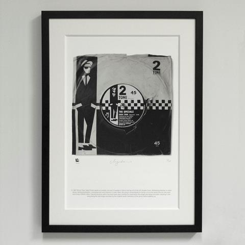 07*'Ghost Town' The Specials - Morgan Howell Print