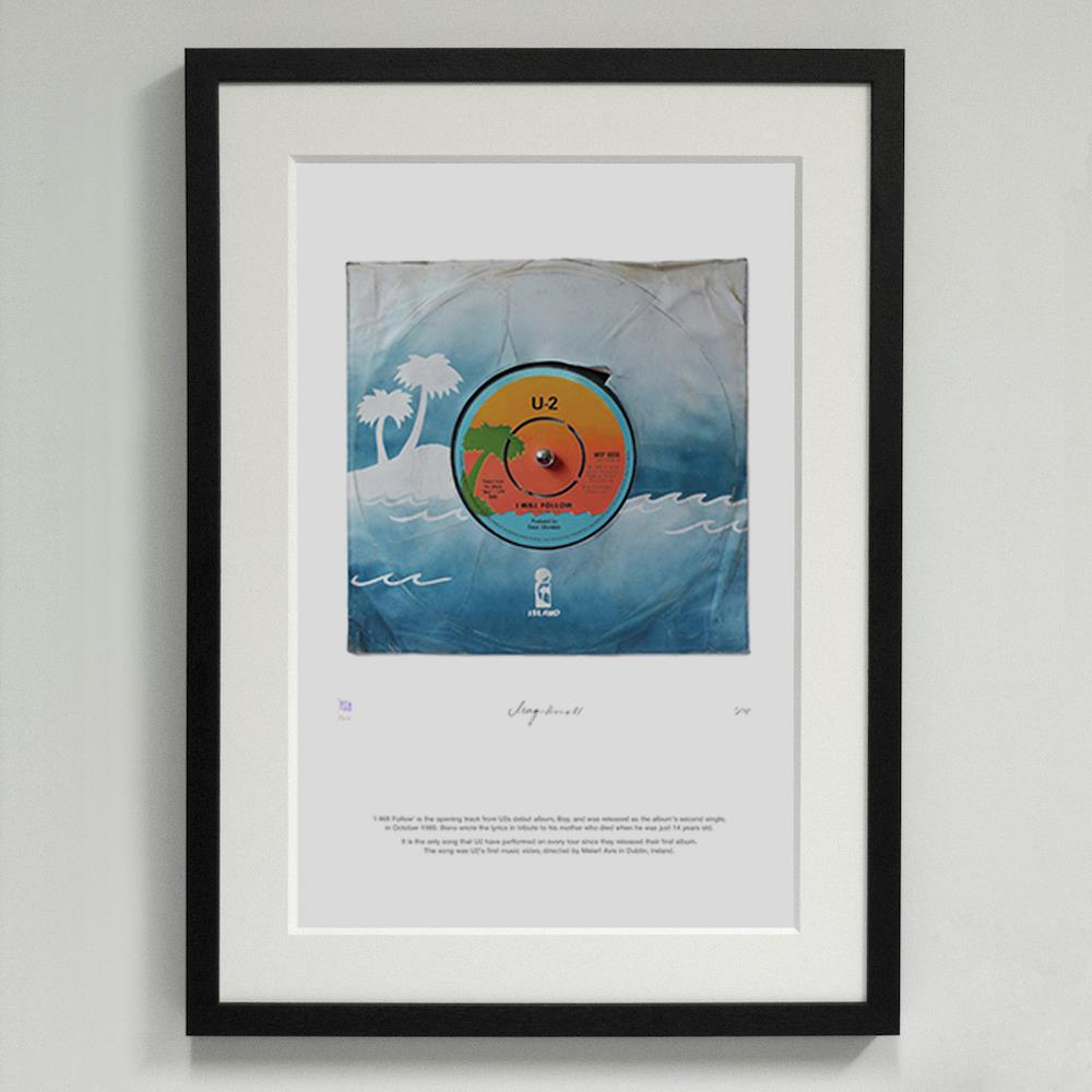 11*'I Will Follow' U2 - Morgan Howell Print