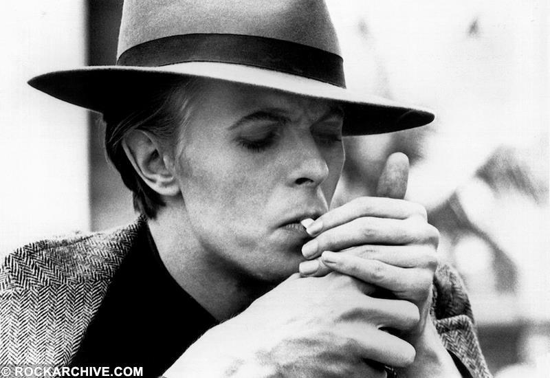 Bowie chose this image from 'The Man Who Fell To Earth' (1975) for publicity posters in the late seventies. © Geoff MacCormack