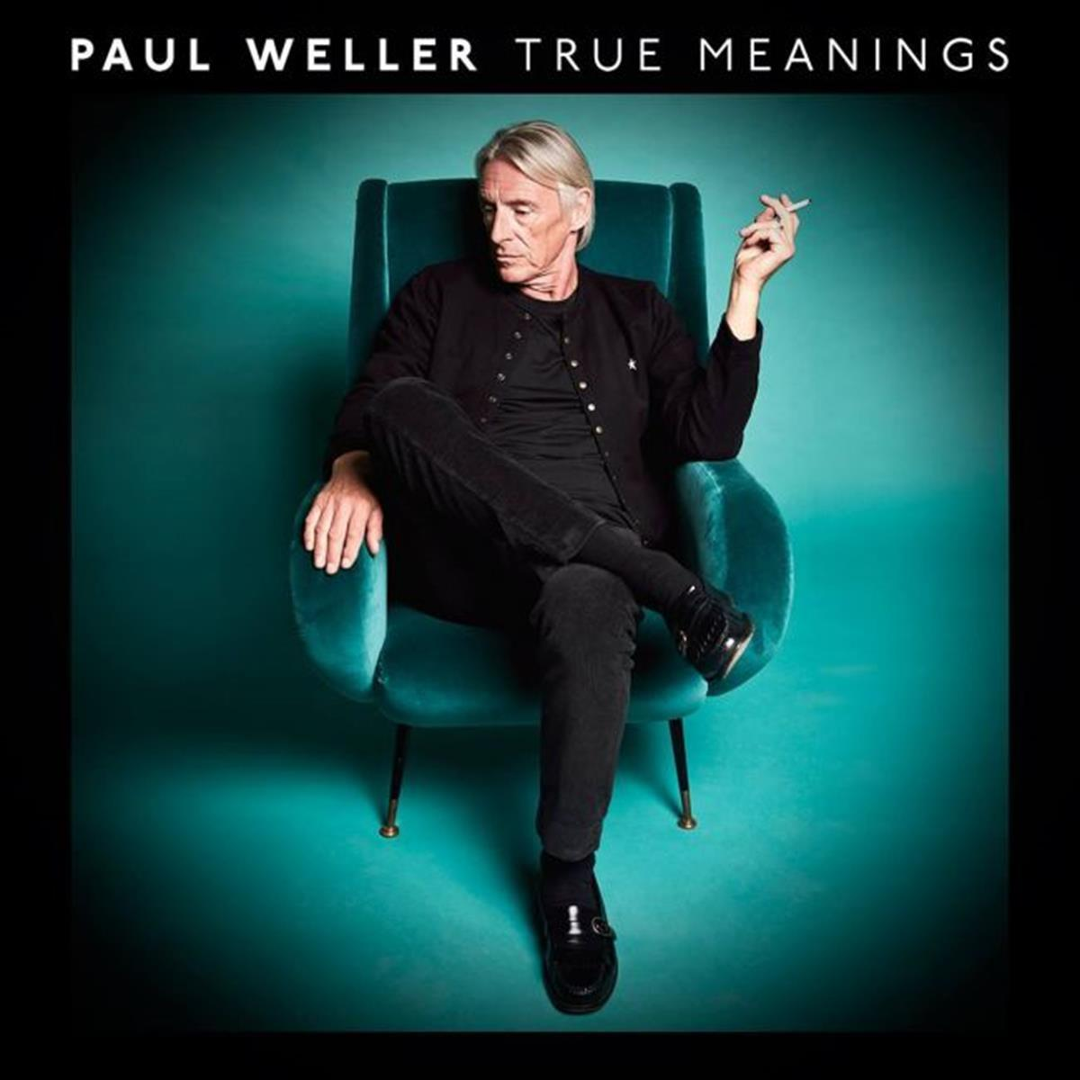 Paul Weller's new album 'True Meanings' cover art. Image courtesy of Parlophone / Paul Weller