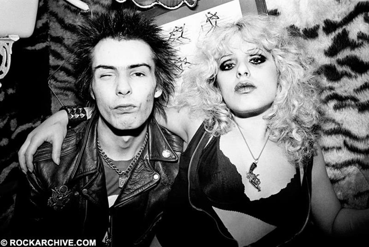 "Photographer Richard Mann recalls ""This was the middle part of a Record Mirror commission to illustrate a piece on Sid and Nancy's relationship. At this point they were happy to pose and presumably found the surroundings harmonious."" © Richard Mann"