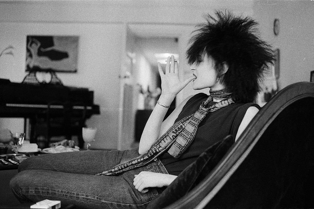 Siouxsie Sioux photographed by Michael Putland in 1980