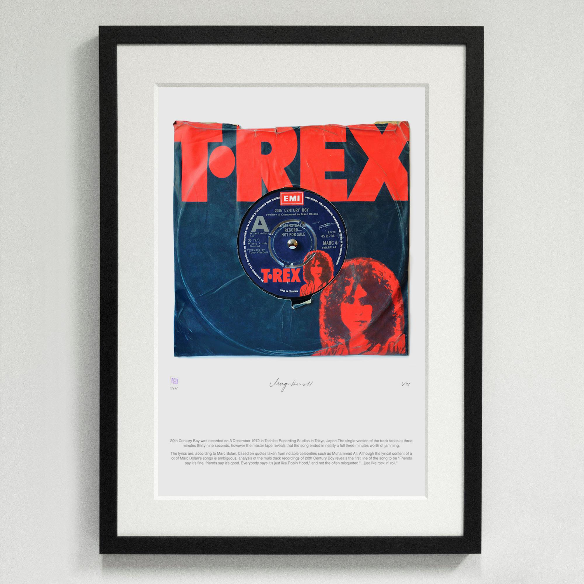'20th Century Boy' T-Rex - Morgan Howell Print