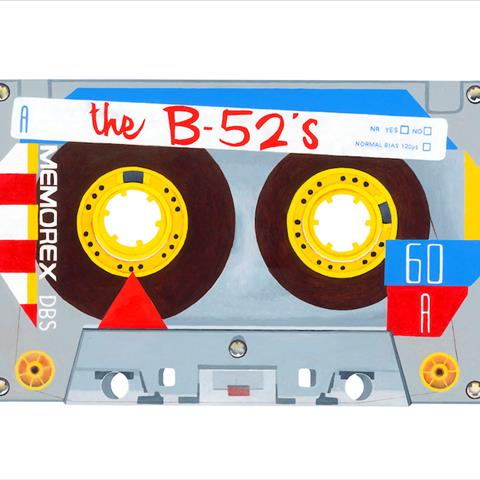 The B52s by artist Horace Panter
