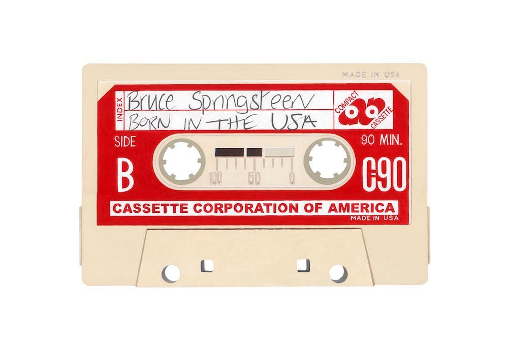 Bruce Sprinsteen 'Born in the USA' by artist Horace Panter