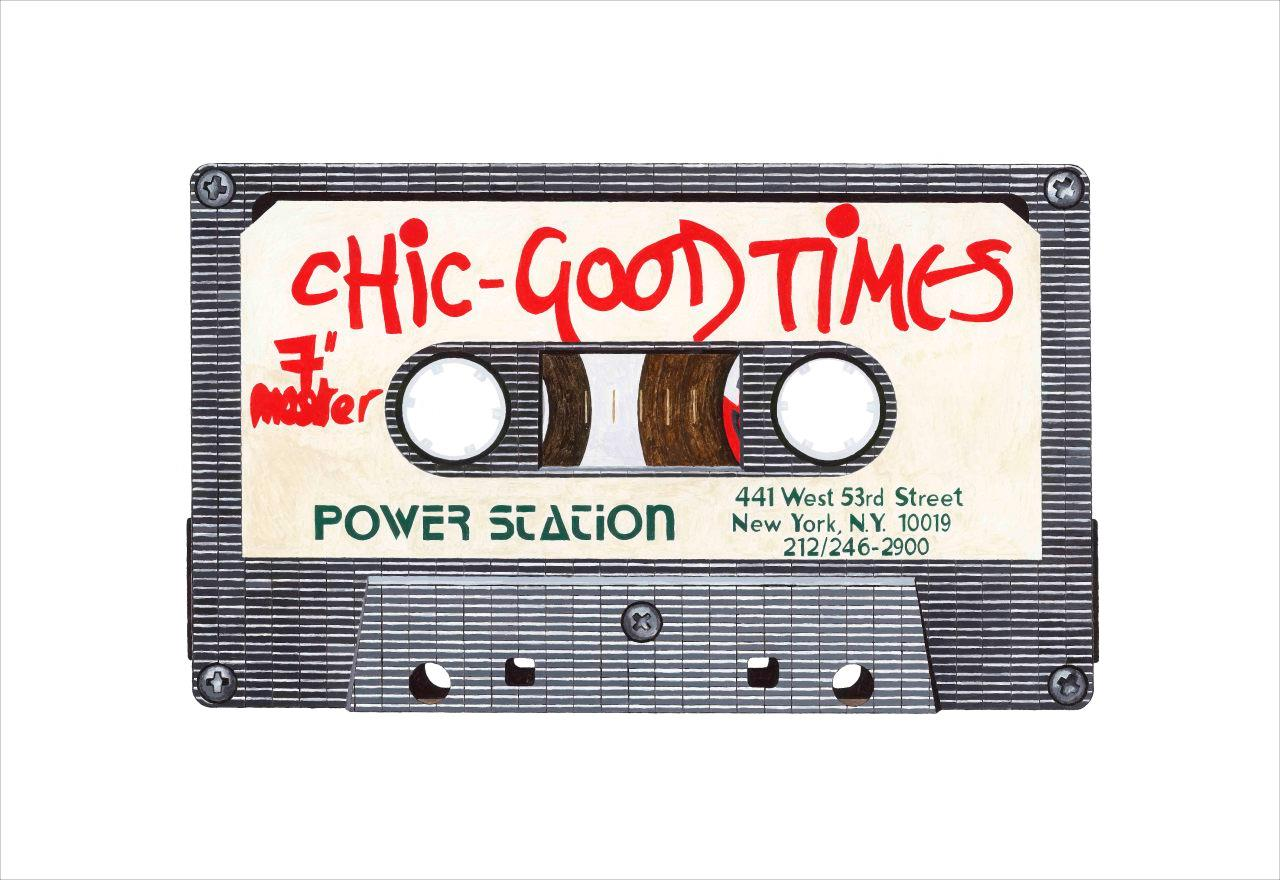 Chic 'Good Times' by artist Horace Panter | Buy limited edition fine art prints