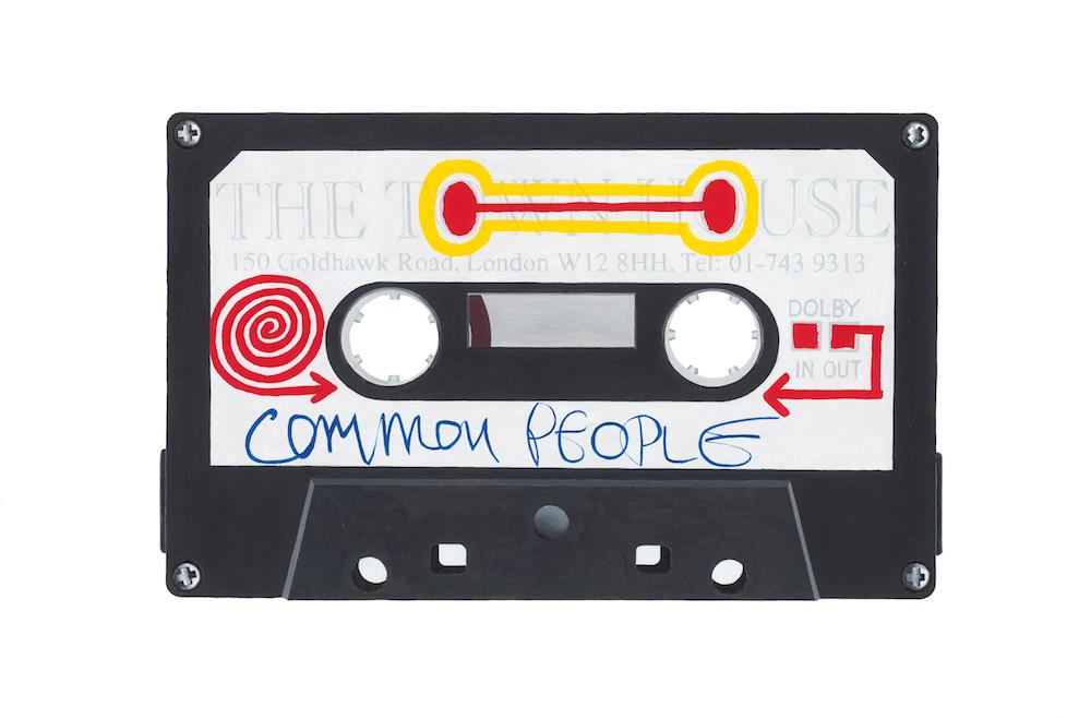Pulp 'Comon People' by artist Horace Panter | Buy limited edition fine art prints