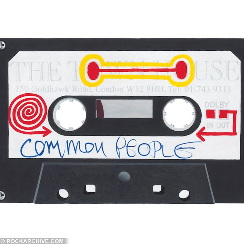 Pulp 'Comon People' by artist Horace Panter