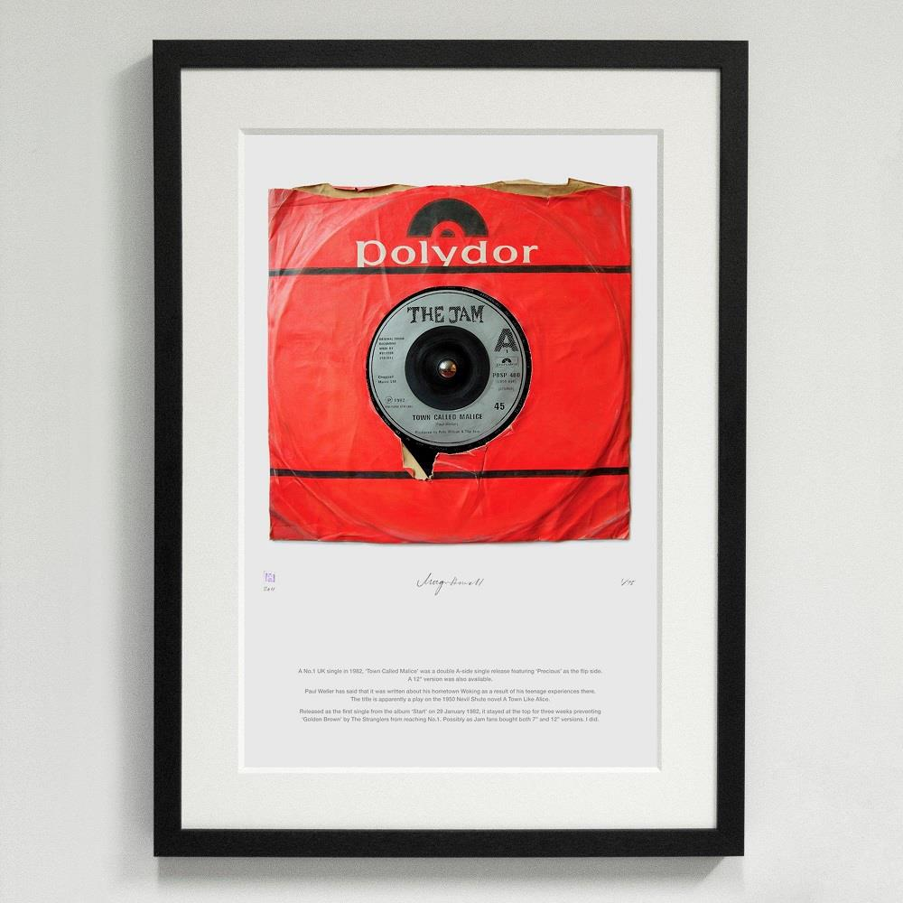 'Town Called Malice' The Jam - Morgan Howell Print