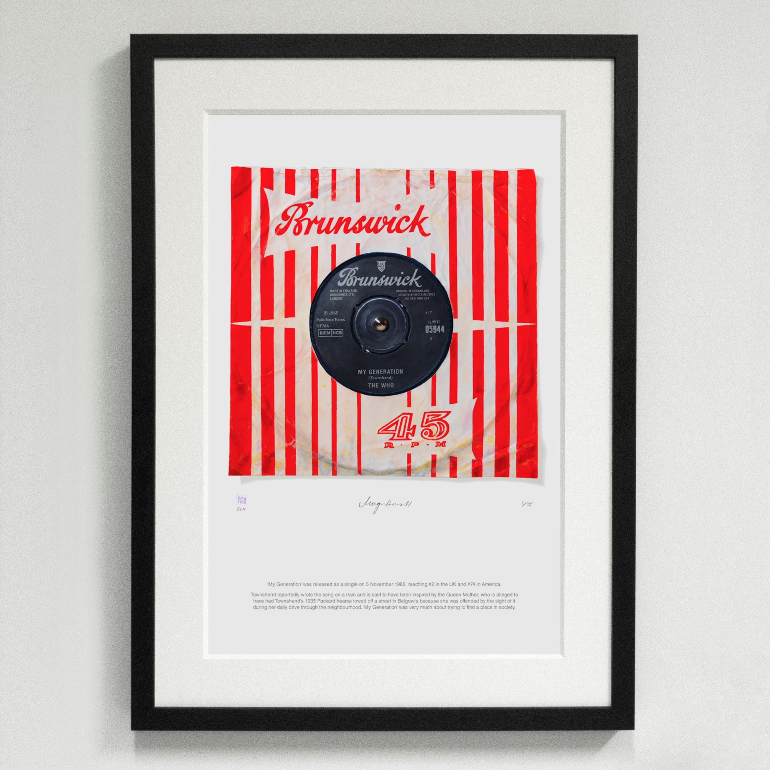 'My Generation' The Who - Morgan Howell Print