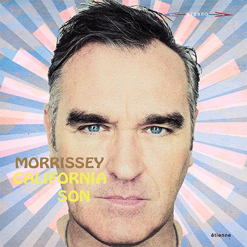'California Son' album cover art. Image courtesy Morrisseyofficial.com and Etienne Records