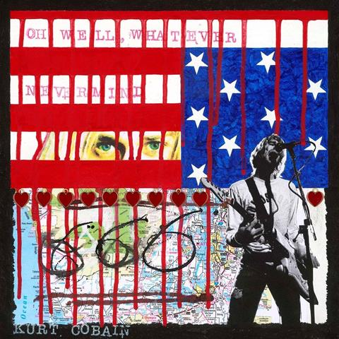Kurt Cobain by artist Horace Panter