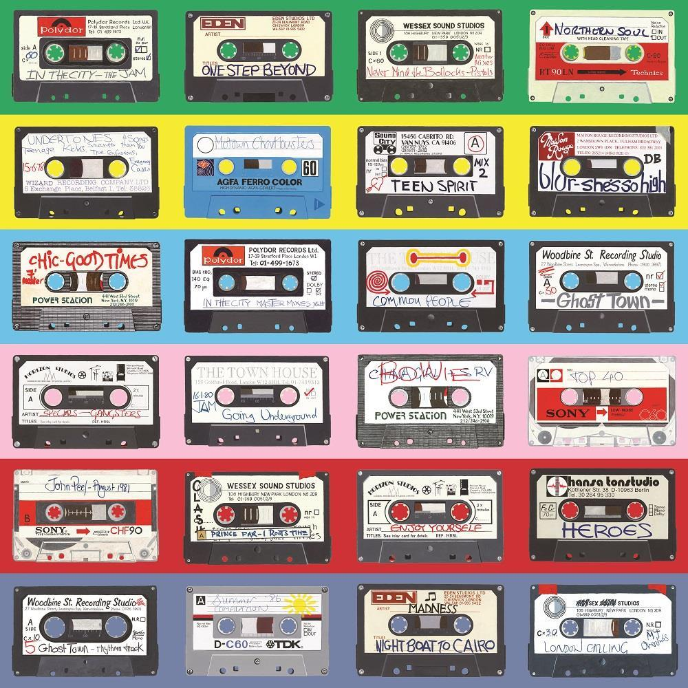 Horace Panter Cassette Compliation Artwork