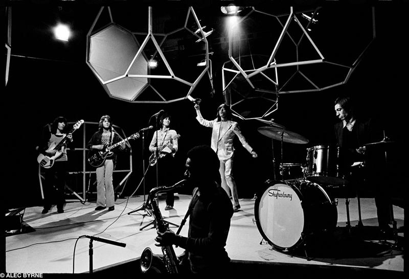 The Rolling Stones, Top of the Pops, London, 1971 © Alec Byrne