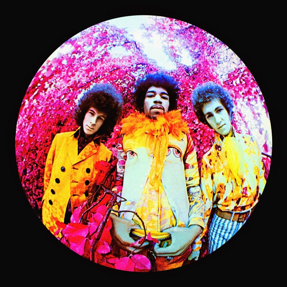 Jimi Hendrix Experience, Are You Experienced album cover, 1967 © Karl Ferris