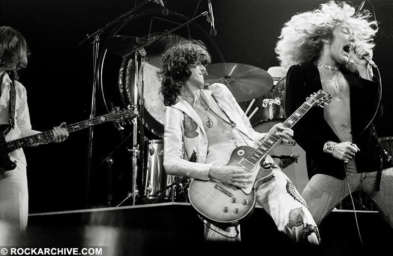 Led Zeppelin, 1977 © Michael Putland