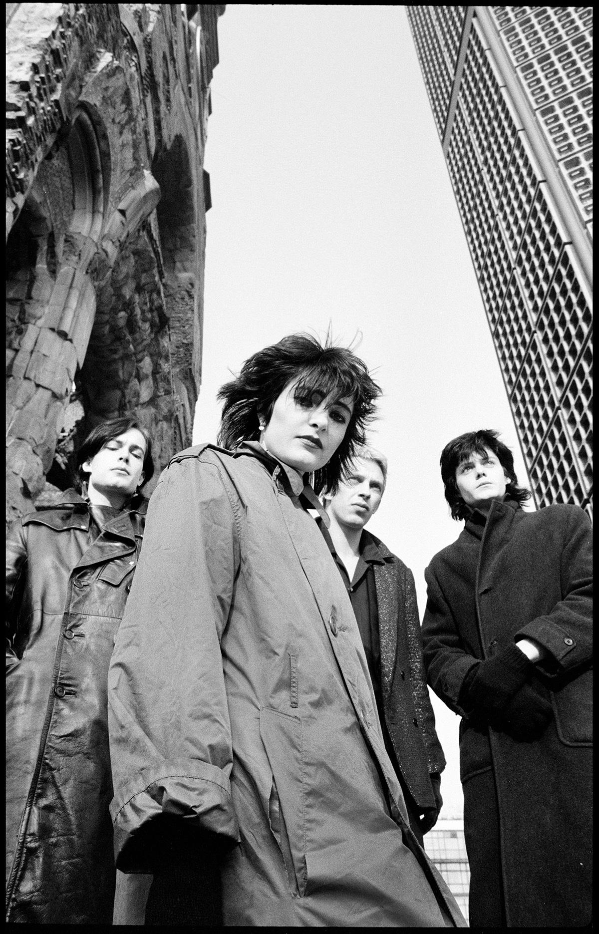 Siouxsie and the Banshees photographed by Jill Furmanovsky  in Berlin in 1979
